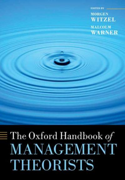 management schools and theorists Developmental feedback and the harvard business school for financial support   in management and organization theory, the concept of transparency has.