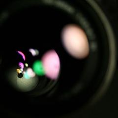 detail of lens