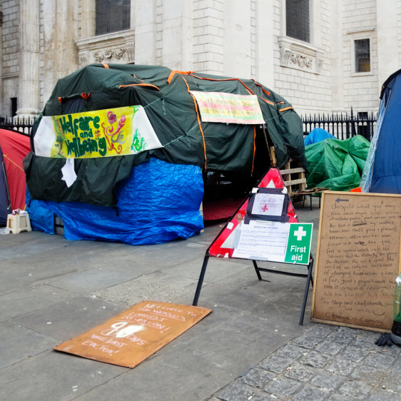 Tent City That Fought the Government